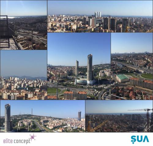 Here is the view of Istanbul from Elite Concept!